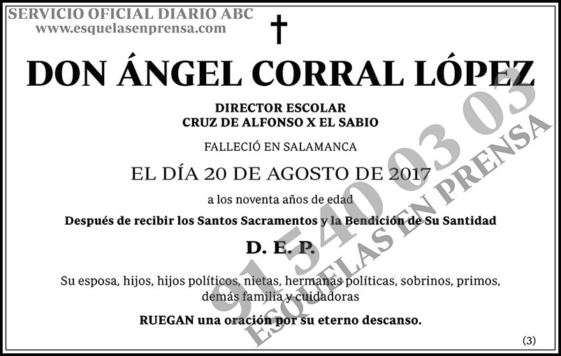 Ángel Corral López